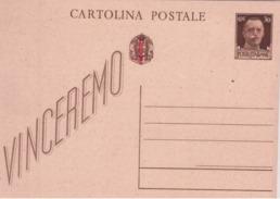 I.p. Vinceremo Da 30c. Con Sovrastampa Rossa Nuovo      B774 - 4. 1944-45 Repubblica Sociale