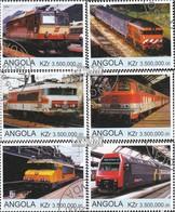 Angola 2000Z2a-2000Z2f Die Legalität Dieser Ausg. Ist Ungeklärt Gestempelt 2000 Züge - Angola