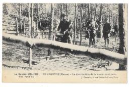 Cpa: 55  Guerre 1914 - 1915  EN ARGONNE Distribution De La Soupe, Sous Bois  1916  N° 84 - War 1914-18
