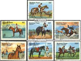 Burkina Faso 1035-1041 (kompl.Ausg.) Postfrisch 1985 Briefmarkenausstellung - Burkina Faso (1984-...)