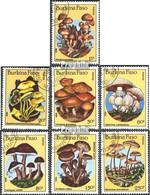 Burkina Faso 1054-1060 (kompl.Ausg.) Postfrisch 1985 Pilze - Burkina Faso (1984-...)