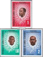 Äquatorialguinea 1603-1605 (kompl.Ausg.) Postfrisch 1979 Unabhängigkeitskämpfer - Äquatorial-Guinea