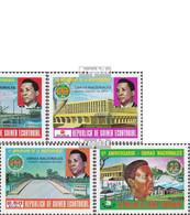 Äquatorialguinea 1608-1612 (kompl.Ausg.) Postfrisch 1979 Unabhängigkeit - Äquatorial-Guinea