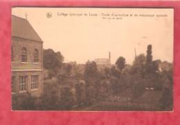 Collège épiscopal De Leuze Ecole D´agriculture Et De Mécanique Agricole  - Une Vue Du Jardin - - Leuze-en-Hainaut