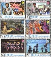 Liberia 744-749 (kompl.Ausg.) Gestempelt 1970 EXPO 1970 In Osaka, Japan - Liberia