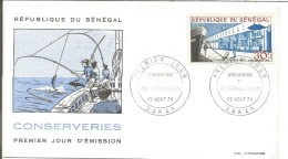 SENEGAL FDC 1970 COMPLEXE THONIER DE DAKAR - Senegal (1960-...)