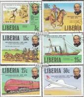 Liberia 1098A-1103A (kompl.Ausg.) Gestempelt 1979 100. Todestag Sir Rowland Hill - Liberia