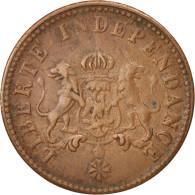 Haïti, 2 Centimes, 1850, TTB, Cuivre, KM:36 - Haïti