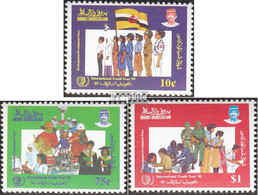 Brunei 314-316 (kompl.Ausg.) Postfrisch 1985 Jahr Der Jugend - Brunei (1984-...)