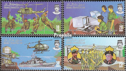 Brunei 339-342 (kompl.Ausg.) Postfrisch 1986 Königliche Streitkräfte - Brunei (1984-...)