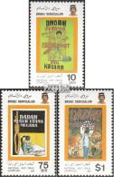 Brunei 352-354 (kompl.Ausg.) Postfrisch 1987 Anti-Drogen-Kampagne - Brunei (1984-...)