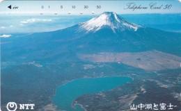 Japan, 250-445 C, Yamanaka Lake And Mt. Fuji, 2 Scans. - Japan