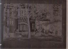 RARE - NEGATIF DE CPA EN VERRE ( 18 X 13cm ) * BRUXELLES AUDERGHEM - CASINO - Etterbeek