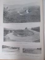 1905  Course Automobile  Le Circuit D Auvergne Auto ROCHEFORT Coupe GORDON BENNETT Renault Panhard  Hotchkiss Brasier - Non Classés