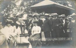 71 - CHALON Sur SAONE - Carte Photo - Concours Hippique 1907 - Chalon Sur Saone