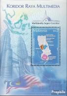 Malaysia Block86A (kompl.Ausg.) Postfrisch 2004 Multimedia Super Corridor - Malaysia (1964-...)