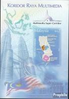 Malaysia Block86B (kompl.Ausg.) Postfrisch 2004 Multimedia Super Corridor - Malaysia (1964-...)