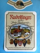 1303 - Suisse Zürich Rudolfinger 1979 Zurcher Blauburgunder - Etiquettes