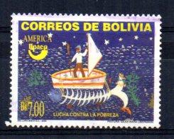 Bolivia - 2005 - 7b America/Struggle Against Poverty - Used - Bolivie