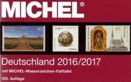 Stamps MICHEL 2016/2017 Deutschland New 55€ D:AD Baden Bayern DR 3.Reich Danzig Saar SBZ DDR Berlin FZ AM-Post BI-Z. BRD - Other