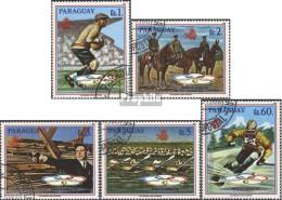 Paraguay 4275-4279 (kompl.Ausg.) Gestempelt 1989 Olympische Sommerspiele 1992, Barce - Paraguay