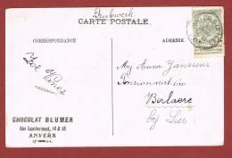 Anvers (Kiel) Op Kaart 29 Janv  1910 ? - Postmark Collection