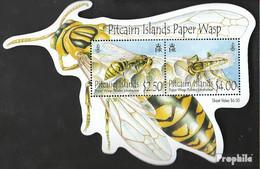 Pitcairn Block58 (kompl.Ausg.) Postfrisch 2011 Pitcairn Feldwespe - Pitcairninsel