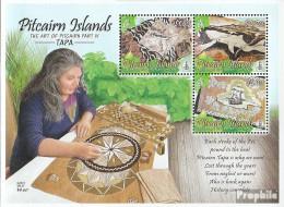 Pitcairn Block59 (kompl.Ausg.) Postfrisch 2012 Kunsthandwerke - Pitcairninsel