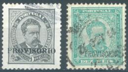 PORTUGAL - 1892 - USED/OBLIT. - CARLOS I  -  Mi 78-79 Yv 78-79 - Lot 14320 - Used Stamps