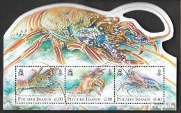 Pitcairn Block63 (kompl.Ausg.) Postfrisch 2013 Krebstiere - Pitcairninsel