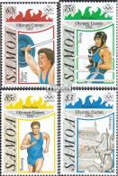 Samoa 738-741 (kompl.Ausg.) Postfrisch 1992 Olympische Sommerspiele '92 - Samoa