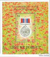Samoa Block53 (kompl.Ausg.) Postfrisch 1995 Beendigung Zweiter Weltkrieg - Samoa
