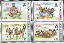 Salomoninseln 952-955 (kompl.Ausg.) Postfrisch 1997 Weihnachten - Solomon Islands (1978-...)