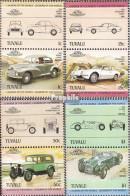 Tuvalu 268-275 Paare (kompl.Ausg.) Postfrisch 1984 Autos - Tuvalu