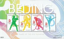 Tuvalu 1396-1399 Kleinbogen (kompl.Ausg.) Postfrisch 2008 Olympische Sommerspiele 2008 - Tuvalu