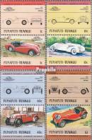 Tuvalu-Funafuti 13-20 Paare (kompl.Ausg.) Postfrisch 1984 Autos - Tuvalu