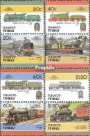 Tuvalu-Funafuti 85-92 Paare (kompl.Ausg.) Postfrisch 1986 Lokomotive - Tuvalu