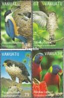 Vanuatu 1081-1084 (kompl.Ausg.) Postfrisch 1998 Vögel - Vanuatu (1980-...)