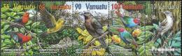 Vanuatu 1129-1133 Fünferstreifen (kompl.Ausg.) Postfrisch 2001 Vögel - Vanuatu (1980-...)