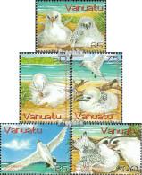 Vanuatu 1208A-1212A (kompl.Ausg.) Postfrisch 2004 Rotschwanz Tropikvogel - Vanuatu (1980-...)