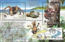 Vanuatu Block62 (kompl.Ausg.) Postfrisch 2008 Schutz Der Palmendiebe - Vanuatu (1980-...)