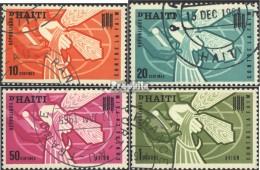 Haiti 745-748 (kompl.Ausg.) Gestempelt 1963 Kampf Gegen Den Hunger - Haiti