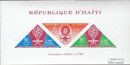Haiti Block23I (kompl.Ausg.) Postfrisch 1962 Kampf Gegen Die Malaria - Haiti