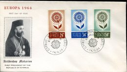 9073 Cyprus,  Fdc  Europa 1964 - Covers & Documents