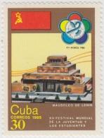 1985.39 CUBA 1985 MNH. Ed.3105. MAUSOLEO DE LENIN. XII FESTIVAL MUNDIAL DE LA JUVENTUD Y LOS ESTUDIANTES. RUSSIA. - Nuevos
