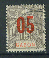 """VEND BEAU TIMBRE DU GABON N°68 , CACHET """"LIBREVILLE"""" !!!! - Timbres-taxe"""