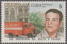 1987.30 CUBA 1987 MNH. Ed.3244. XXX ANIV DEL ASALTO AL PALACIO PRESIDENCIAL. PRESIDENTIAL PALACE. - Nuevos