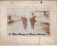 1900 - SAINT ST EULIEN - PENTECOTE - MARNE 51 - PHOTO SUR SUPPORT CARTONNE 11 X 8.5 CM - Luoghi
