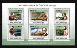 Oiseaux Mozambique 2009 Yvert Feuillet N° 2728 à 2733 Neuf ** - Other