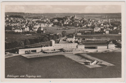 Böblingen - VOM FLUGZEUG AUS , Travelled , Postcard - Boeblingen